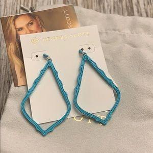 🔥😍Kendra Scott Sophee Earrings in Matte Aqua